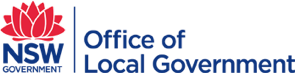 Office of local government Logo